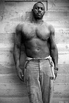 Obligatory shirtless Idris Elba. Scientifically this DNA specimen is spectacular