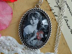 Medalion - Victorian----rose - Medaliony