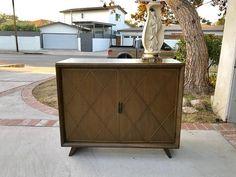 MID CENTURY MODERN 7 Drawer Dresser Cabinet Los Angeles