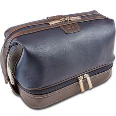 5b698b9c88 Vetelli Leo Leather Toiletry Bag for Men The Ultimate Gift