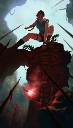 Tomb Raider #tombraider #raider #tomb #laracroft #croft #lara #ladycroft #lady #adventure #reborn #action by GabriellaE.deviantart.com on @deviantART