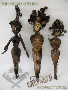 Post Apocalyptic Dolls - strange toys for the Wasteland. SALVAGED Ware enquiries always welcome @ www.markcordory.com
