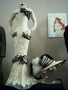 Audrey Hepburn's iconic dress from My Fair Lady. This picture really shows off that beautiful lace's texture!   # Pinterest++ for iPad #