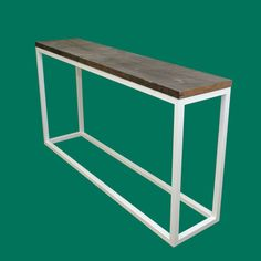 Reclaimed wood console table  SALE  20% Off by ChristopherOriginal