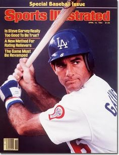 This is a April 1982 Sports Illustrated that has been personally signed by Steve Garvey. Garvey was a First Baseman who played his entire career on the Los Angeles Dodgers and San Diego Padres. He is a All-Star, World Series Champion, and 1974 NL MVP. Baseball Star, Dodgers Baseball, Baseball Players, Baseball Scores, Si Magazine, Magazine Covers, Sports Magazine, Let's Go Dodgers, Dodgers Padres
