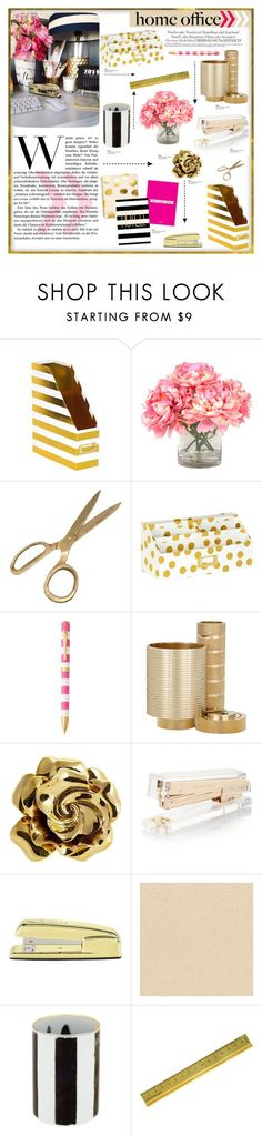 """""""Chic Home Office"""" by carlavogel on Polyvore"""