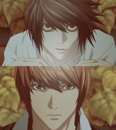Death Note - Im just going to put both of them on my husbands list, because they are both just awesome! Light is crazy and psycho, and L is just adorable!