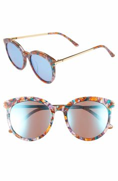 dabf24ff8c Gentle Monster Vanilla Road 54mm Rounded Sunglasses