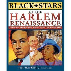 "Easier: Meet Louis ""Satchmo"" Armstrong, Eubie Blake, W.E.B. Du Bois, Duke Ellington, Marcus Garvey, Langston Hughes, Zora Neale Hurston, Paul Robeson, Bessie Smith, and more."