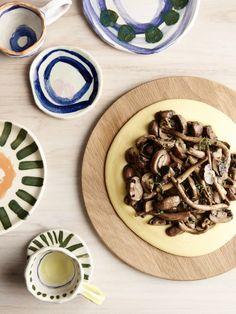 Mushroom Ragú with Creamy Polenta — The Design Files | Australia's most popular design blog.