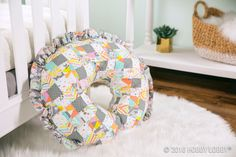 DIY a sweet support pillow for your little one using Somplicity pattern