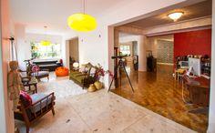 Um #apartamento incrível em Higienópolis, São Paulo, para os amantes do #vintage.