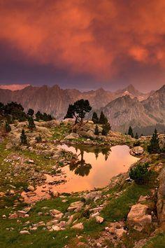 Sunset / Sunrise, Luces de Tormenta en el Pirineo, P.N. Aigüestortes y Estany Sant Maurici, Lleida
