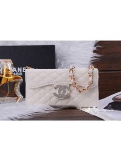 Chanel iPhone 6S Ledertasche Flip wallet Case Hülle {cCNSfghr}