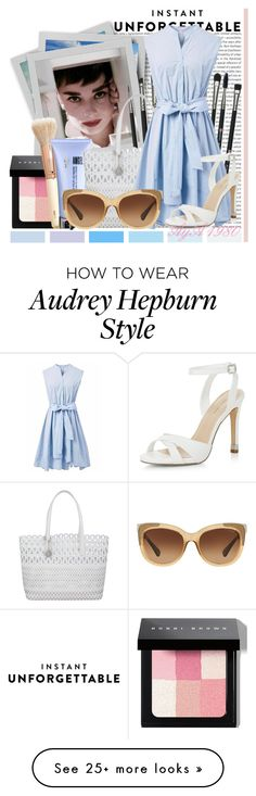 """""""N 882: Shades of You: Sunglass Hut Contest Entry"""" by aya1980 on Polyvore featuring Oris, Bobbi Brown Cosmetics, H&M, Thierry Mugler, Revolution, DKNY, Chicwish, Coach, New Look and shadesofyou"""