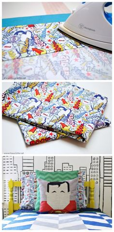 How to sew a standard pillow case