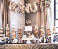 Rustic wedding/dessert snack table