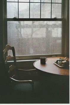 # 7 I love the color grey in this and how its raining i love rain and I was just thinking how it wouldn't be so bad to be alone i would prefer it. Cozy Rainy Day, Rainy Days, Rainy Morning, Autumn Morning, Rainy Night, Autumn Cozy, Rainy Mood, Autumn Coffee, Morning Light