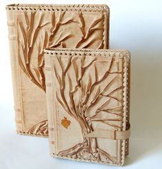 I love Alexander's work. I love trees, so I was very drawn to this shop. He uses soft leather. These journal covers are beautiful. In the process of commissioning a Bible cover....sigh...