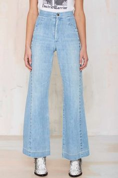 Vintage Malibu Studded Flare Jeans - Bottoms | I'm With the Band | I'm With the Band