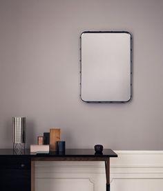 GUBI // Adnet rectangulaire mirror S and Grossman desk