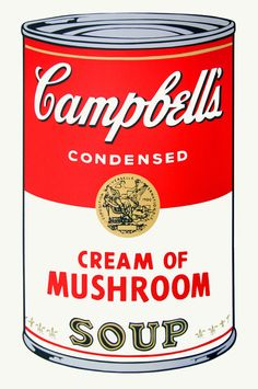Campbell's Soup Can #535 36'x23' inches