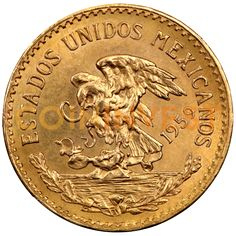20 Mexican Pesos Azteca | Gold | 1917-1959