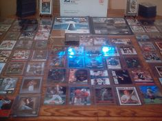 cool HUGE SPORTS CARD COLLECTION LOT AUTO GAME USED JERSEY ROOKIE INSERT GRADED SET - For Sale