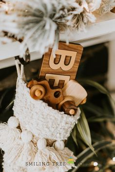 Personalized wooden toys are the hottest stocking stuffers you can gift this holiday season! Choose from wood name puzzles, personalized trucks, wood camera imagination toys, and more all handmade in the USA from sustainable resources. That's holiday gifting you can feel great about! Imagination Toys, Stocking Stuffers For Kids, Name Puzzle, Wood Names, Holiday Gifts, Holiday Decor, Childrens Gifts, Wooden Toys, First Birthdays