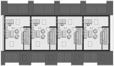 Projekt domu Fossano DCSW13 136,02 m2 - koszt budowy 208 tys. zł - EXTRADOM Floor Plans, How To Plan, Floor Plan Drawing, House Floor Plans