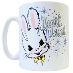 Death Metal Bunny Mug