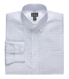 Traveler Traditional Fit Button Down Dress Shirt Big and Tall