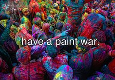 The festival of holi is a pure treat to the eyes and soul because you get to play with colors!