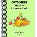 75 page Thematic Unit for October   More than just Halloween  LOADS of worksheets and activities  $12