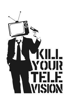 Kill Your Television Stencil