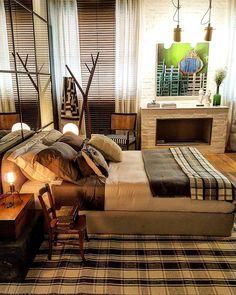 Boa noite amores!!! Com o lindo e acolhedor loft de campo de Paola Ribeiro na Casa Cor São Paulo 2016. .  Foto Autoral  .  http://ift.tt/1PDZmBp  Snapchat decorandoacasa  #casacor #casacorsaopaulo #casacor30anos #casacoroficial #arch #architecture #arqdesign #arqdecor  #arqlovers #decorlovers #designlifestyle #lifestyle #estilodevida #olioliteam #interiores #interiordesign #design #quarto #bedroom #quartodecasal