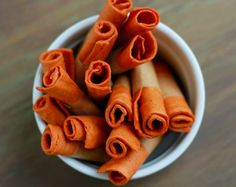 Spiced Sweet Potato Apple Fruit Leather | 14 Fruit Roll Ups Recipes That Your Kids Will Really Love by Homemade Recipes at http://homemaderecipes.com/14-fruit-roll-ups-recipes/Leather