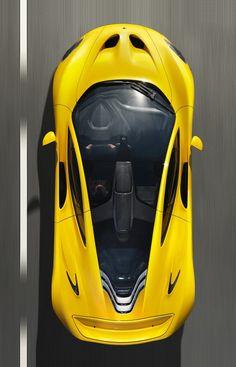 ♂ Yellow car McLaren P1
