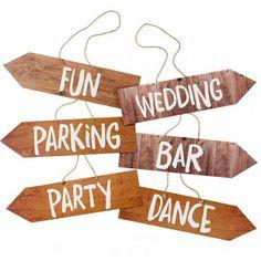 Party Venue Signs