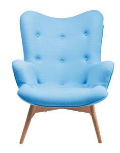 Angels Wings Armchair - Kare Design - lichtblauw