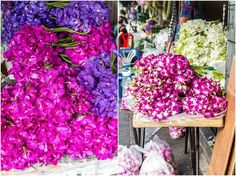 Bangkok - 9 unique and different things to do in the capital of Thailand {The Pak Khlong Flower Market}
