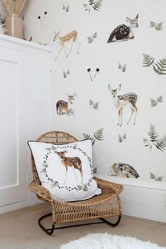 Every child needs a little reading corner, make it super cosy with mini furniture, comfy cushions and sheepskin rugs. Nursery Themes, Room Themes, Nursery Decor, Themed Nursery, Boys Bedroom Decor, Dream Bedroom, Bedroom Sets, Childrens Reading Corner, Giraffe Bedroom