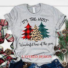 Christmas Tee Shirts, Fall Shirts, Christmas Sweaters, Christmas Decals, Christmas Svg, Funny Christmas, Vinyl Shirts, How To Make Tshirts, Layers Design