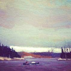 by Tom Thomson? Can't find this repin anywhere in my Tom Thomson searches...