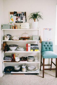 Ikea Mulig shelving unit // kitchen storage