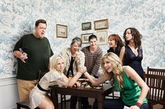"2008, Entertainment Weekly gathered the cast of long-running sitcom Roseanne for some TV family reunion photos. They brought on talented photographers Mark Williams and Sara Hirakawa of Williams + Hirakawa to shoot the reunion, which included a ""battle of the Beckys"""