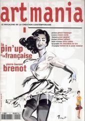 Illustr. Pierre Laurent Brenot - Couverture Artmania - Le Magasine De La Création Contemporaine . 1959