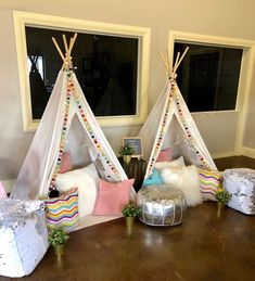 Upcountry Camp offers luxury tent and teepee rentals for parties, sleepovers and camping in and around Mississippi. Sleepover Birthday Parties, 10 Birthday, Canvas Teepee, A Frame Tent, Teepee Party, Indoor Camping, Go Glamping, Luxury Tents, Girl Themes