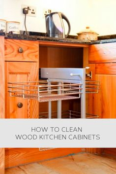 kitchen cabinet cleaning tips household tips on cleaning wood cabinets 18327
