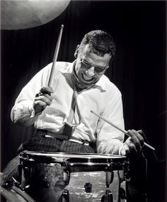Buddy Rich, NYC, New York, 1954  © HERMAN LEONARD,